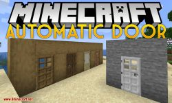 Automatic Door mod for minecraft logo