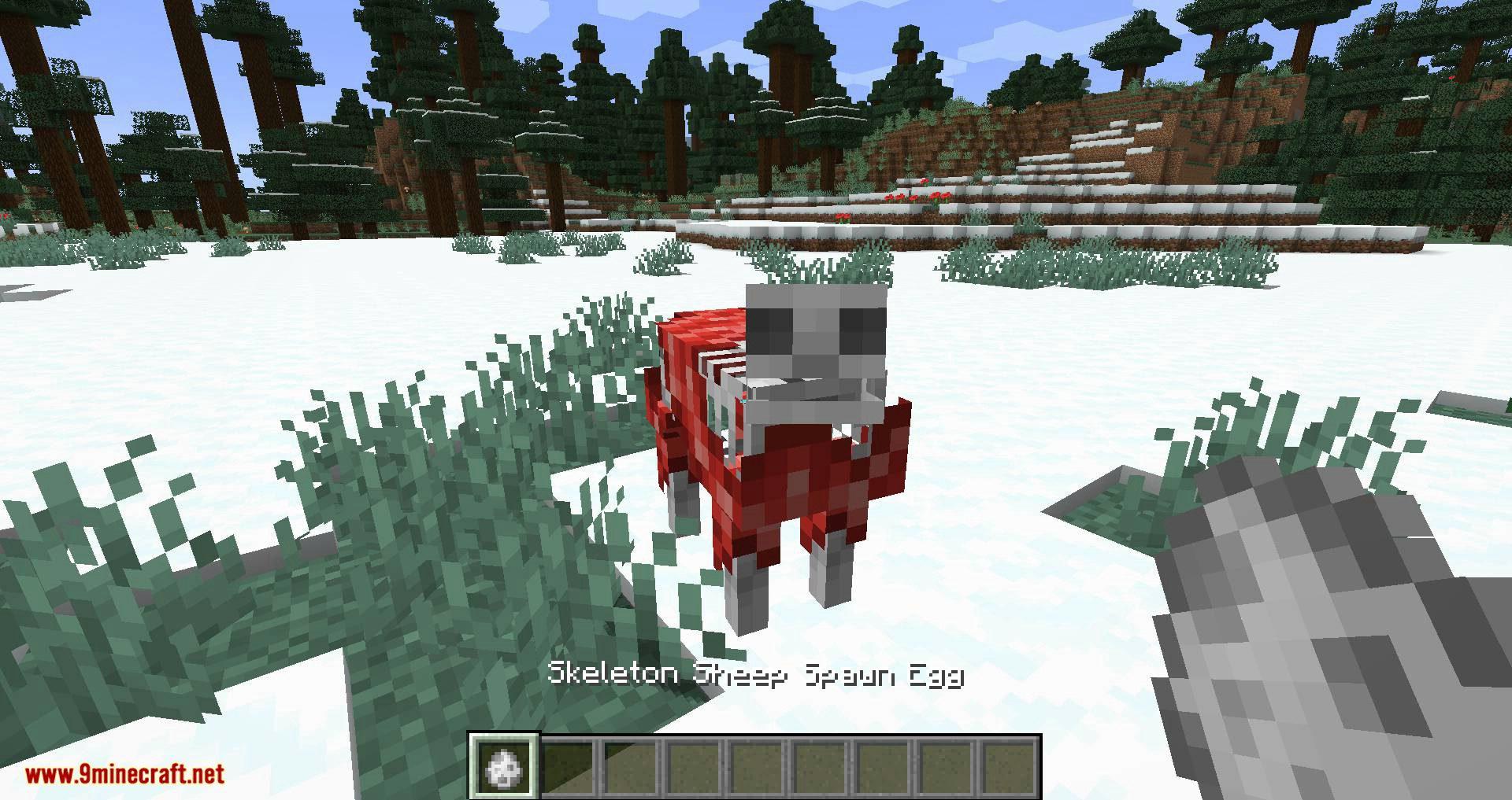 Bones mod for minecraft 01