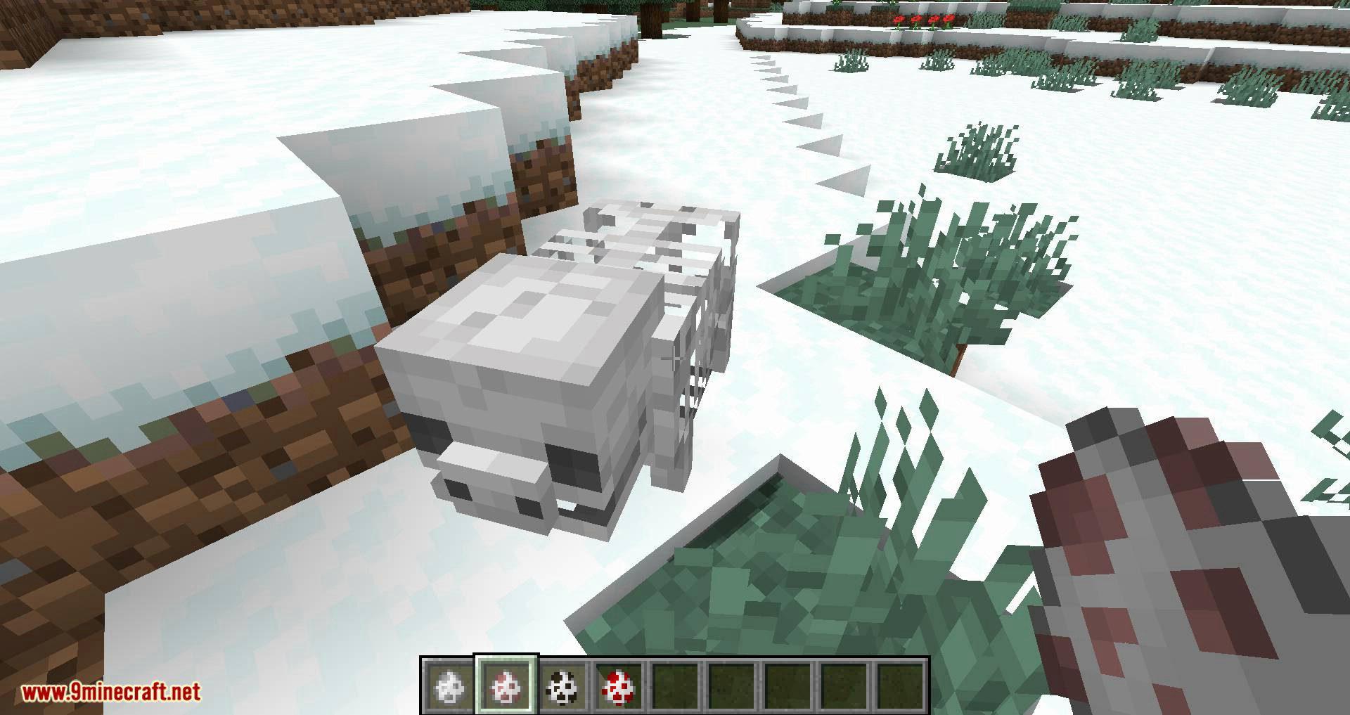 Bones mod for minecraft 02