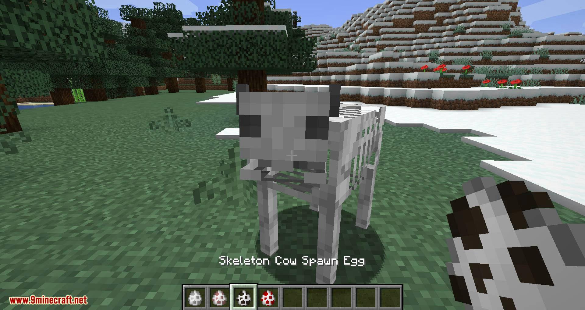 Bones mod for minecraft 03