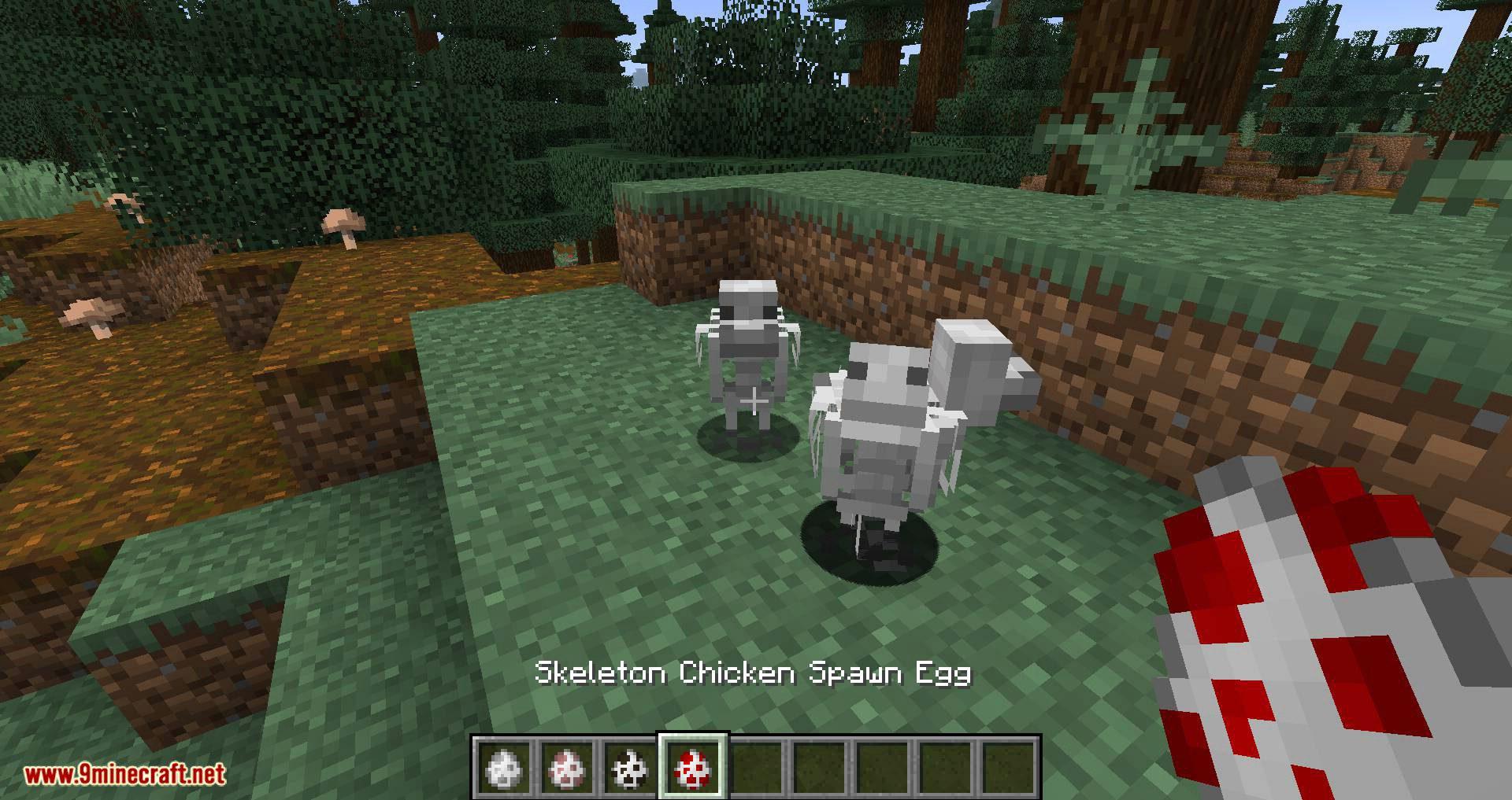 Bones mod for minecraft 04
