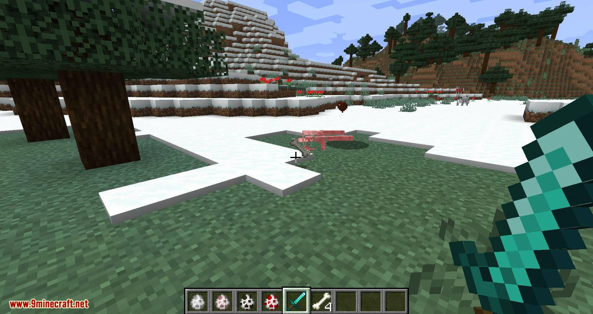 Bones mod for minecraft 07