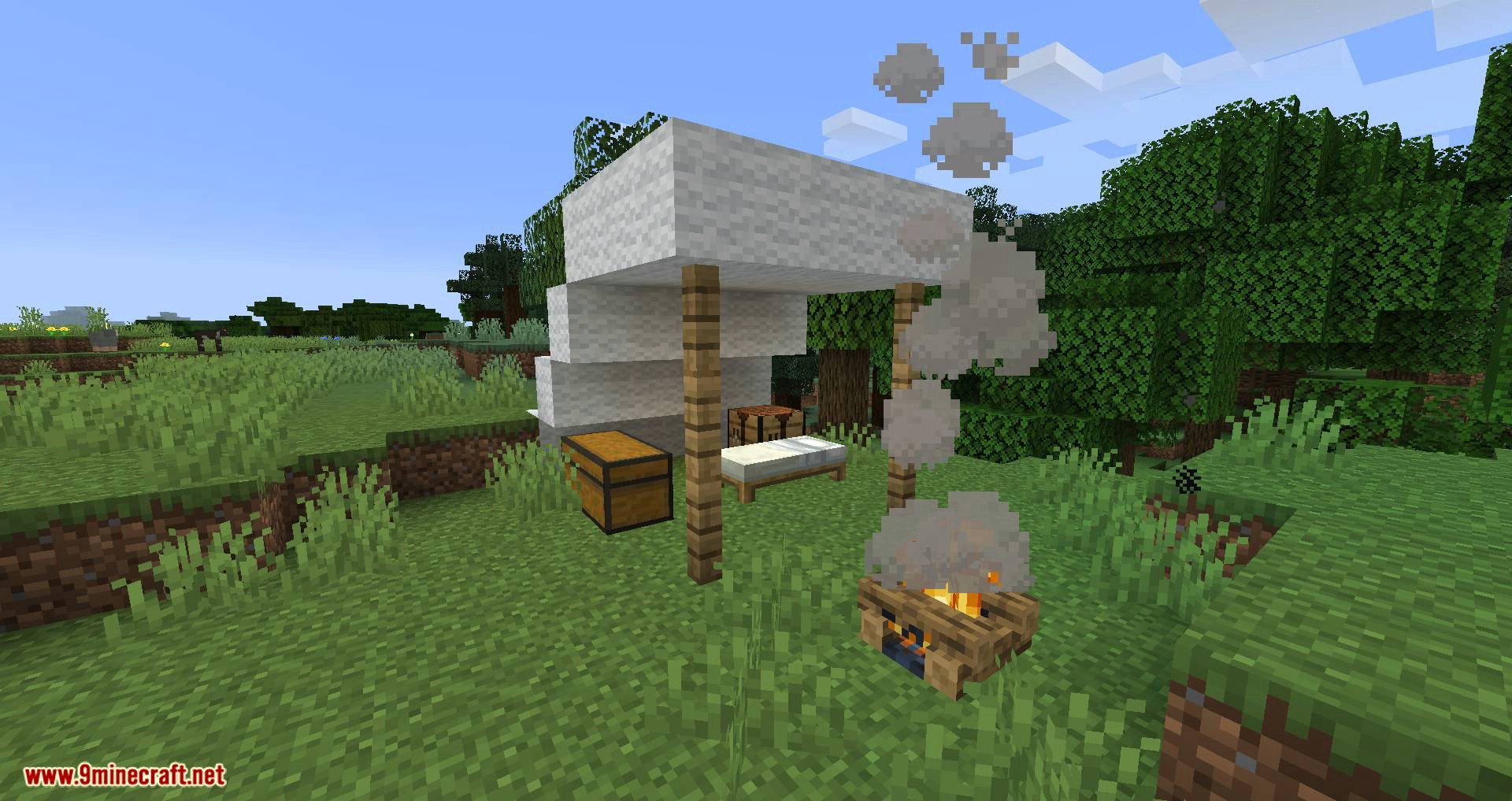 Campfire Incense mod for minecraft 01