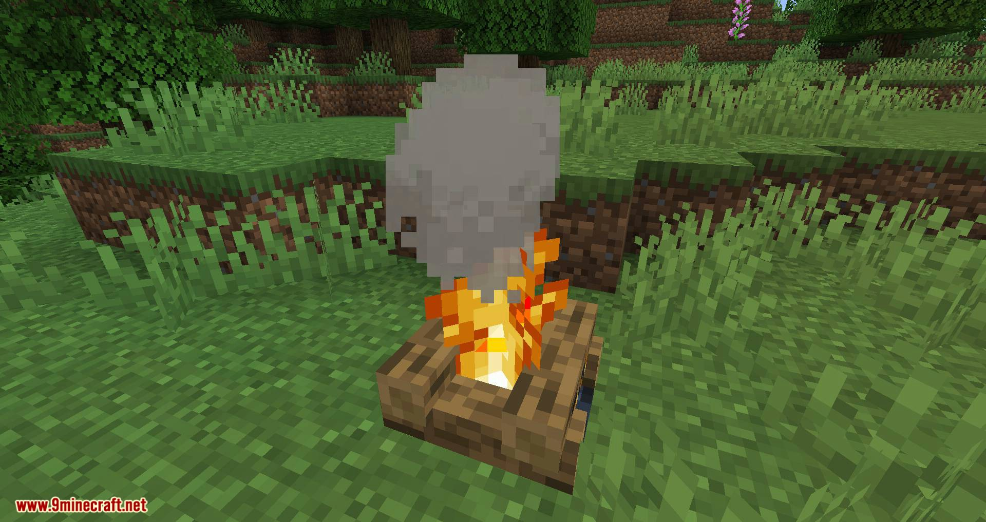 Campfire Incense mod for minecraft 02