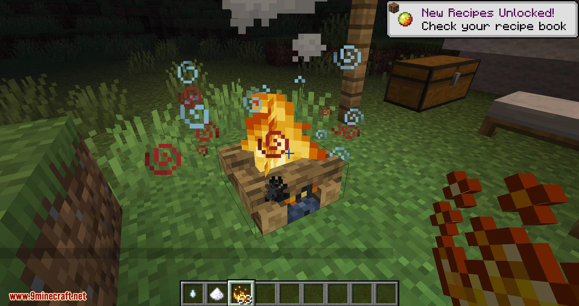 Campfire Incense mod for minecraft 06