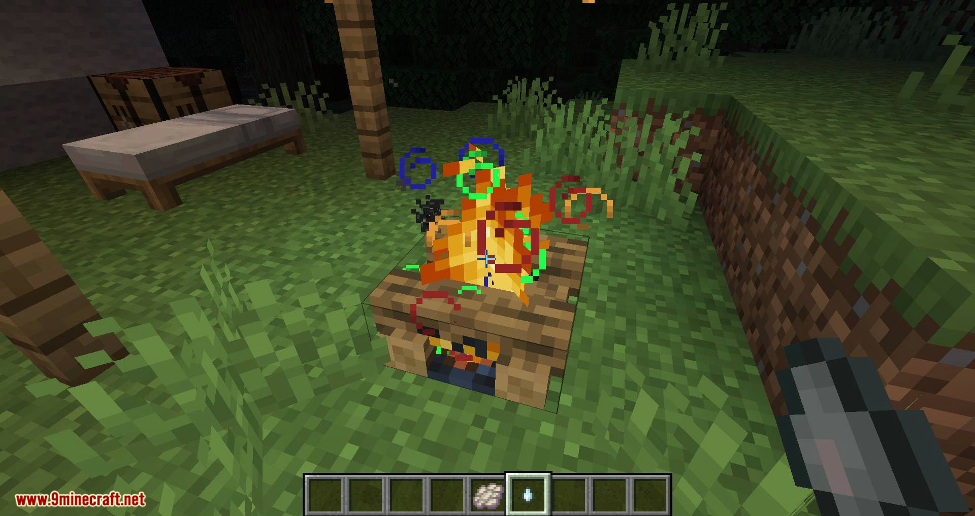 Campfire Incense mod for minecraft 07
