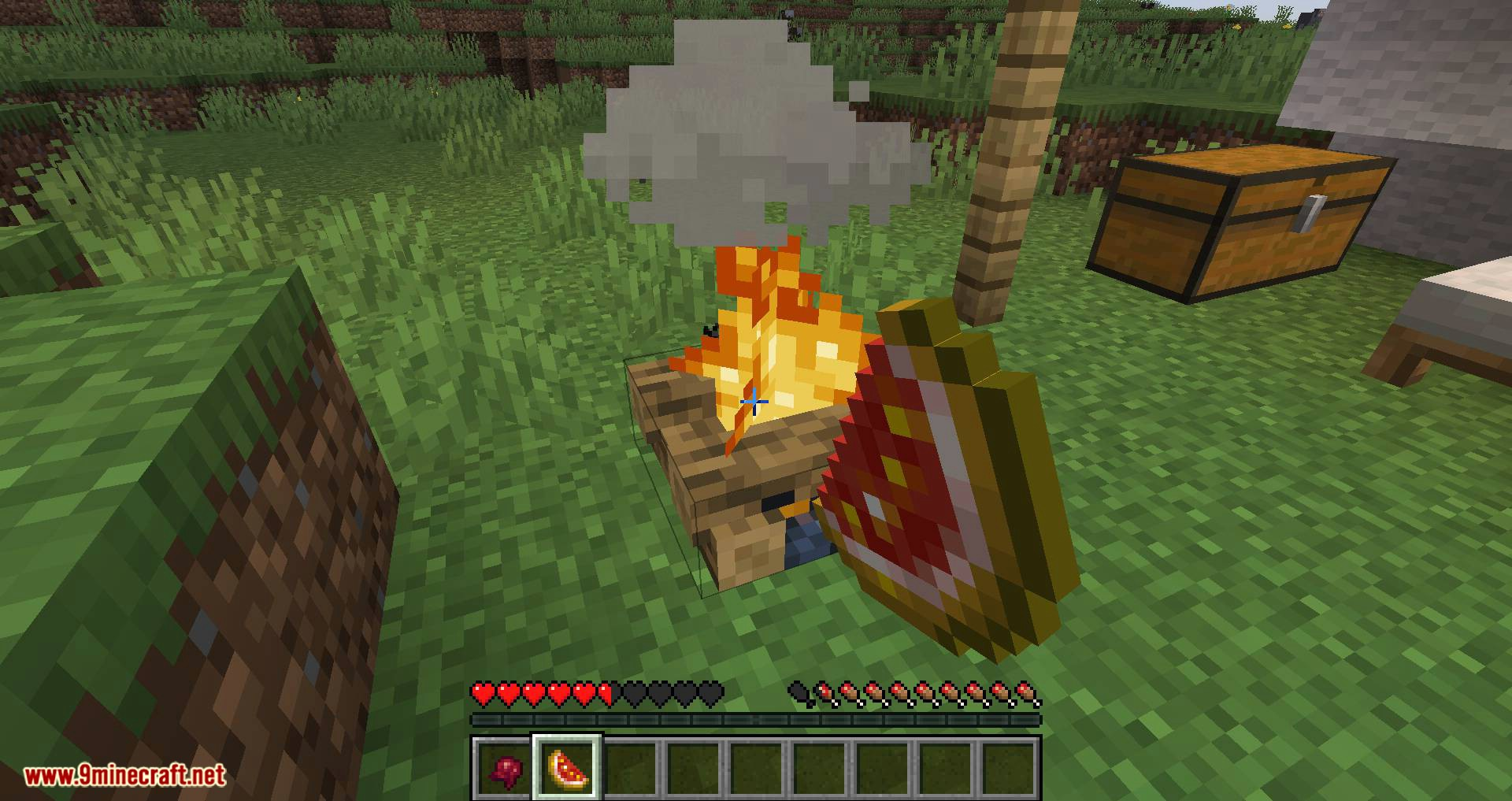 Campfire Incense mod for minecraft 10