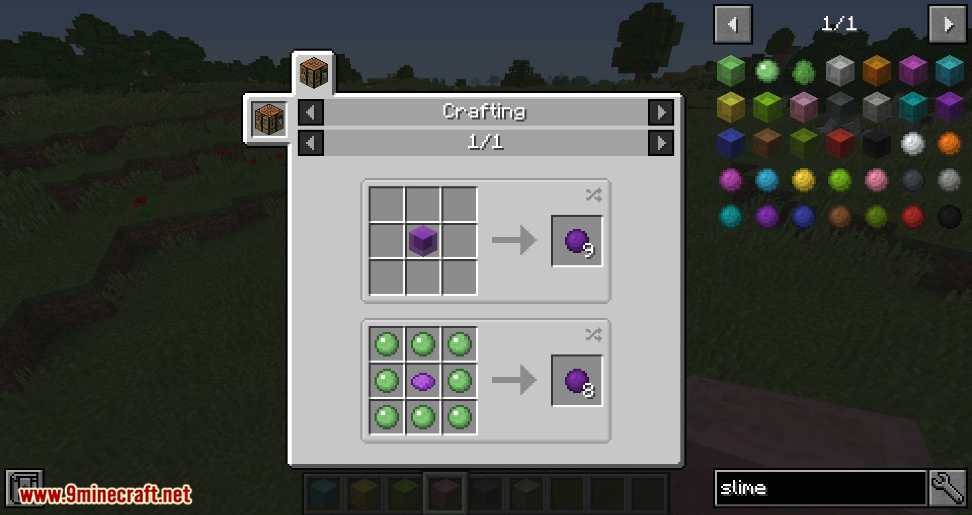 Colorful Slimes mod for minecraft 08