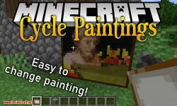 Cycle Paintings mod for minecraft logo