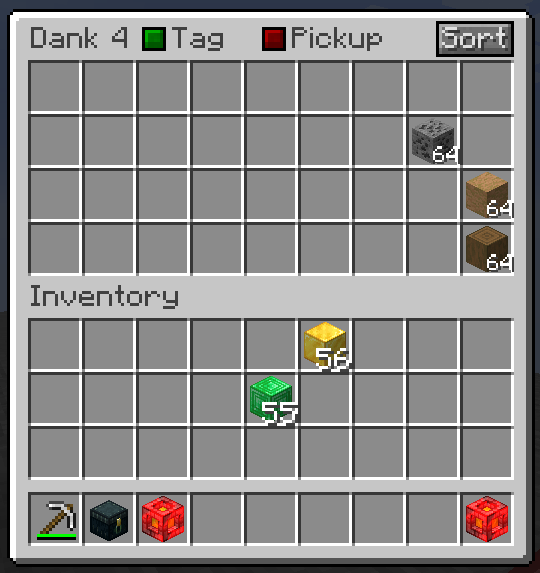 Dank Storage mod for minecraft 22