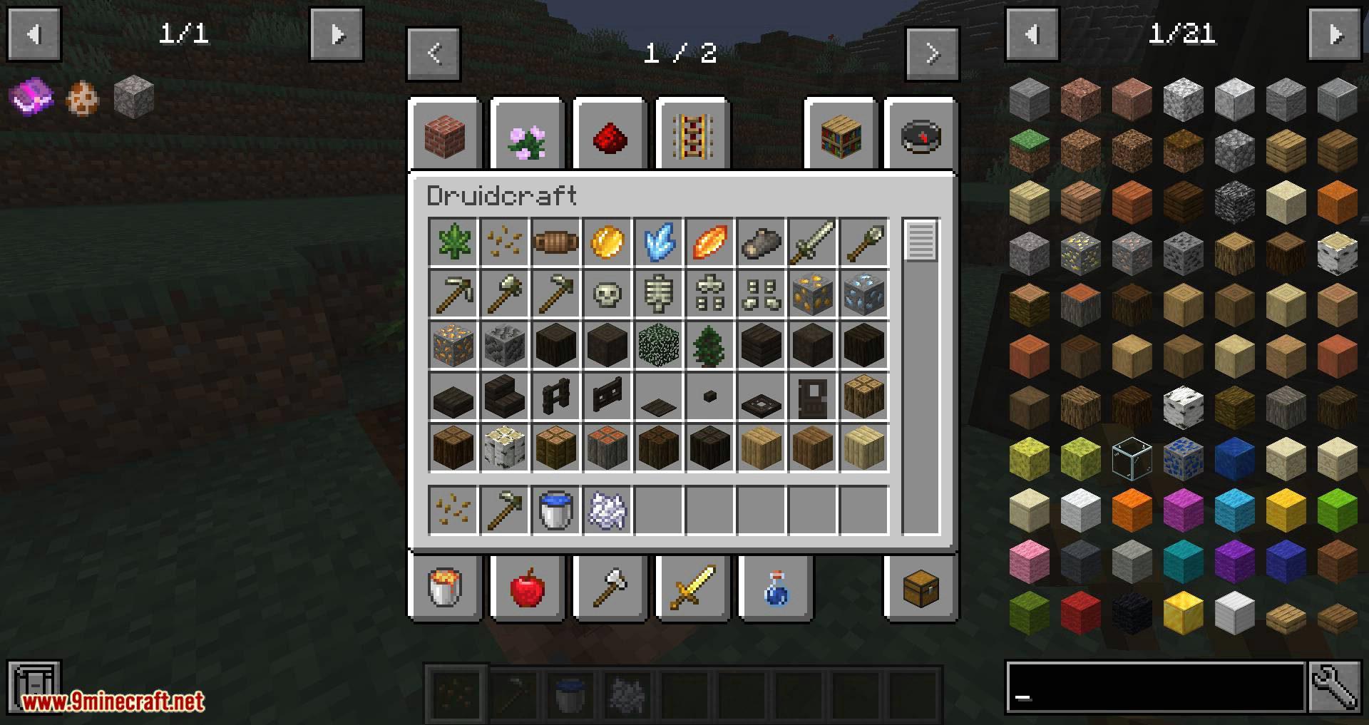 Druidcraft mod for minecraft 09