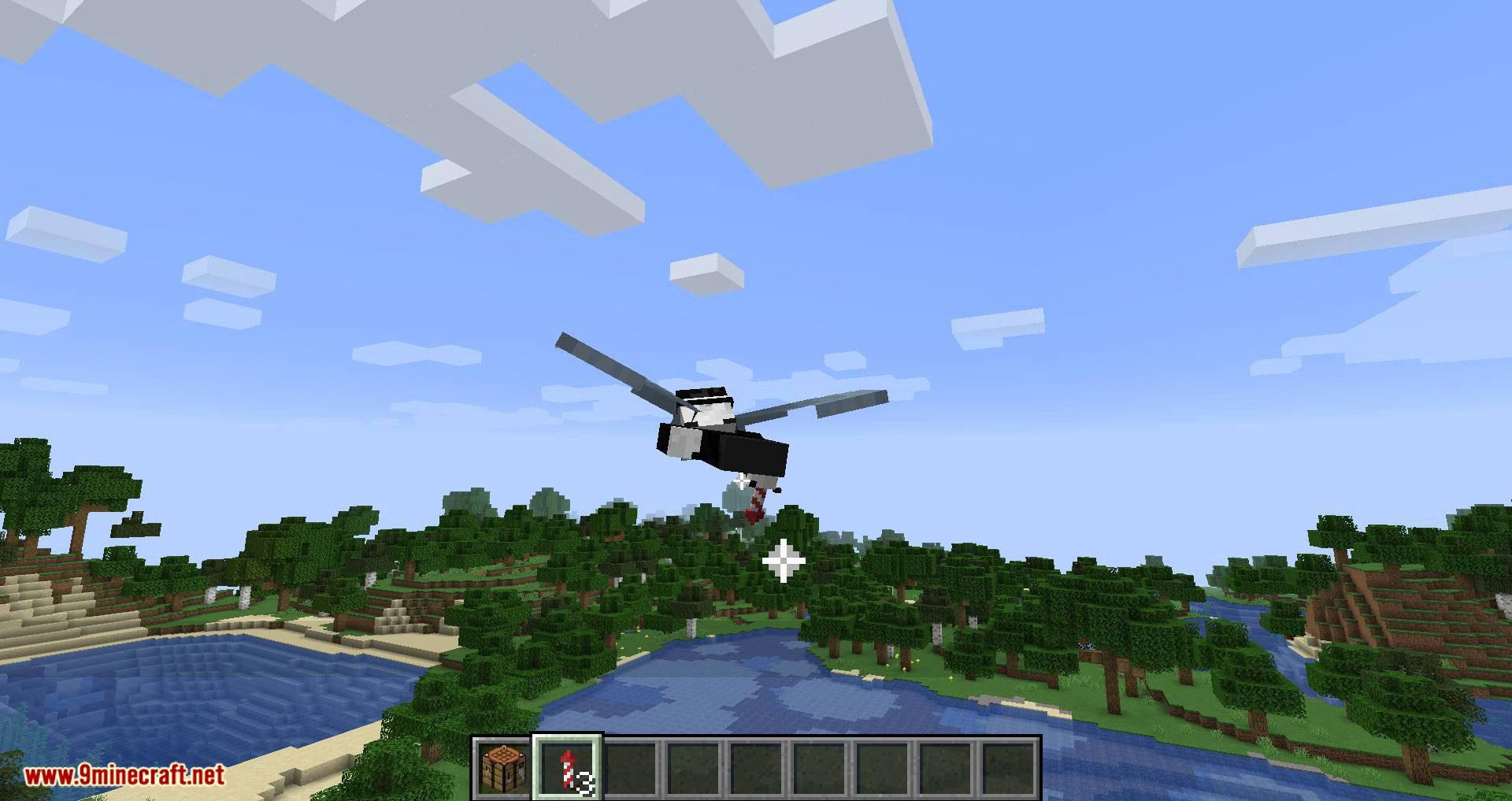 Easy Elytra Takeoff mod for minecraft 09