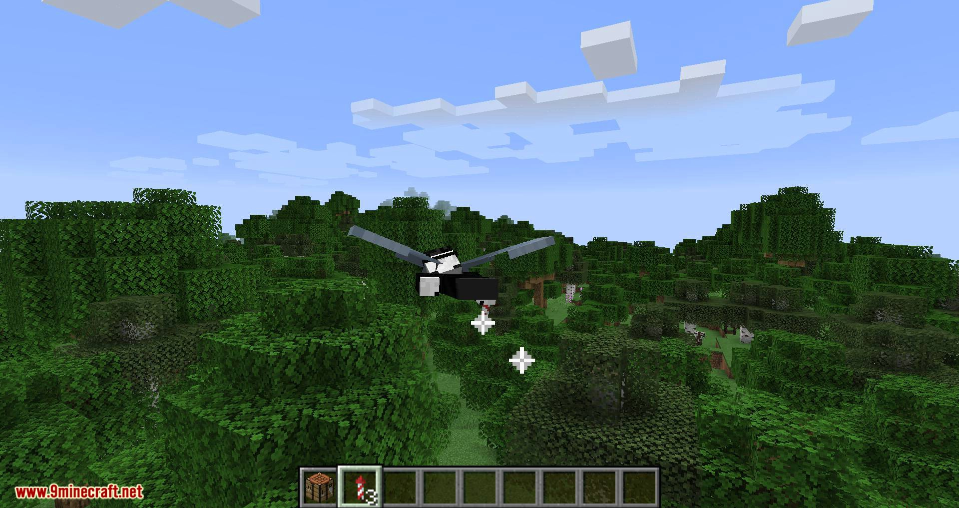 Easy Elytra Takeoff mod for minecraft 10