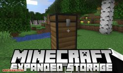 Expanded Storage mod for minecraft logo