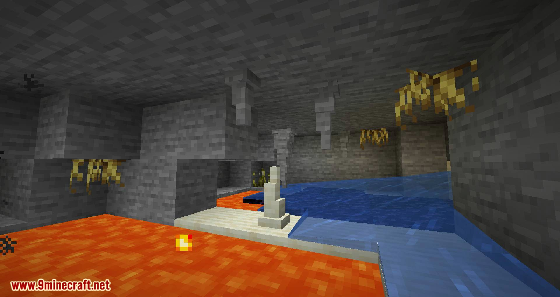 Extended Caves mod for minecraft 01