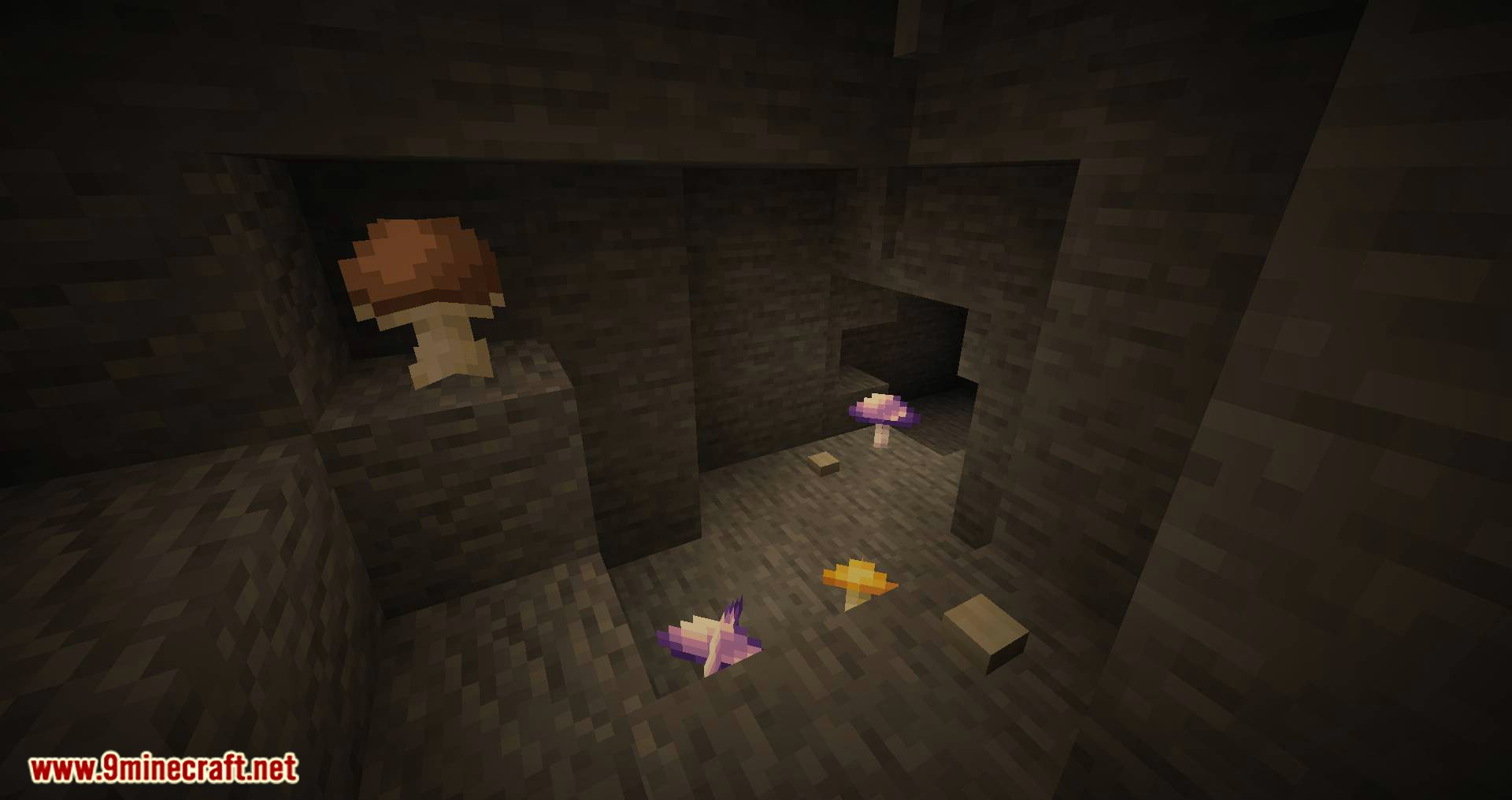Extended Caves mod for minecraft 02