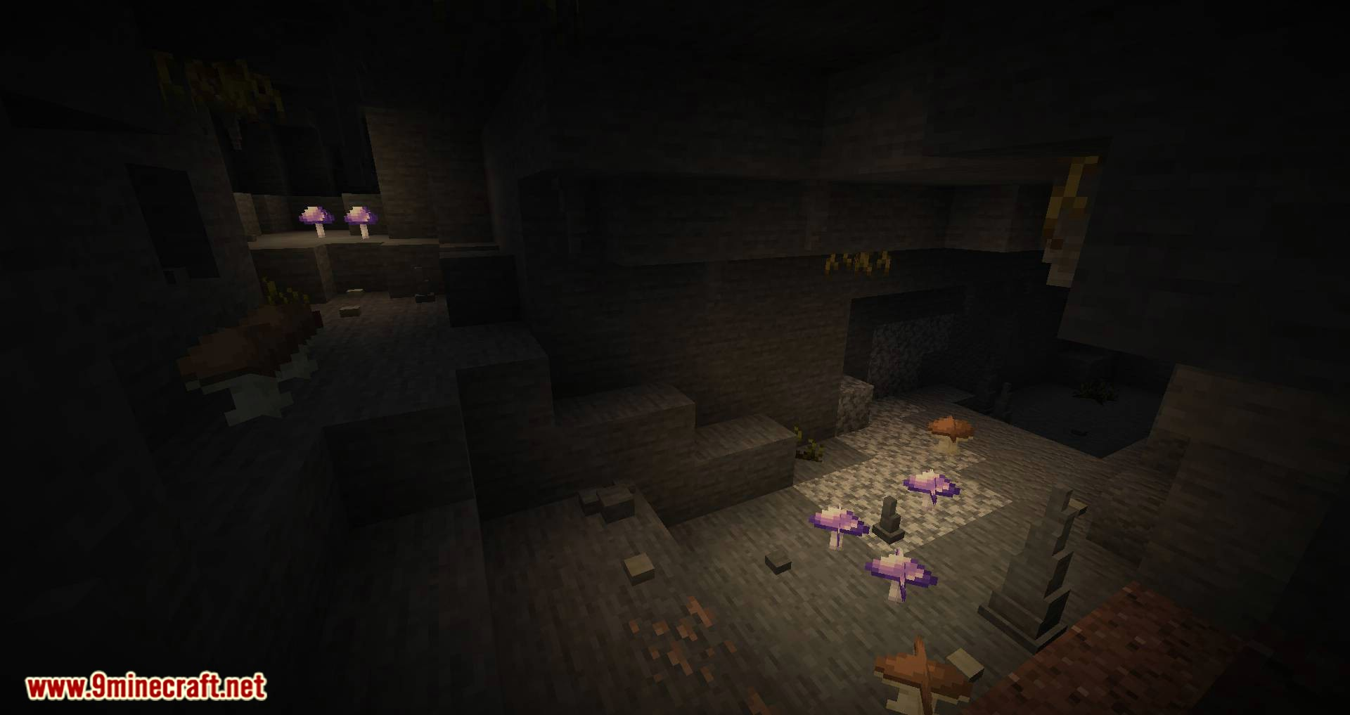 Extended Caves mod for minecraft 03