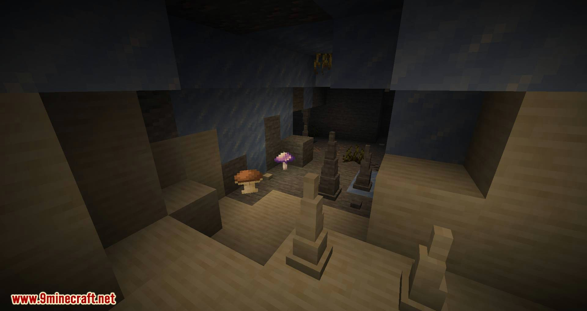 Extended Caves mod for minecraft 04