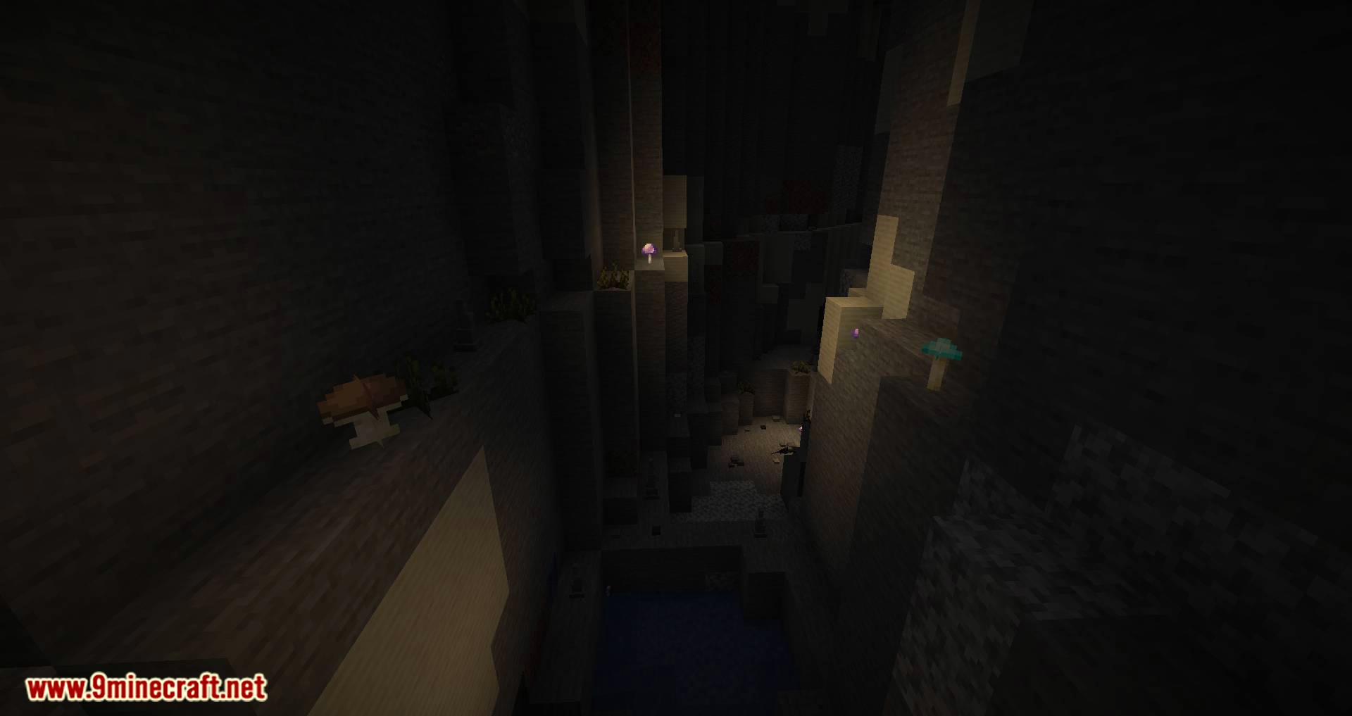 Extended Caves mod for minecraft 10