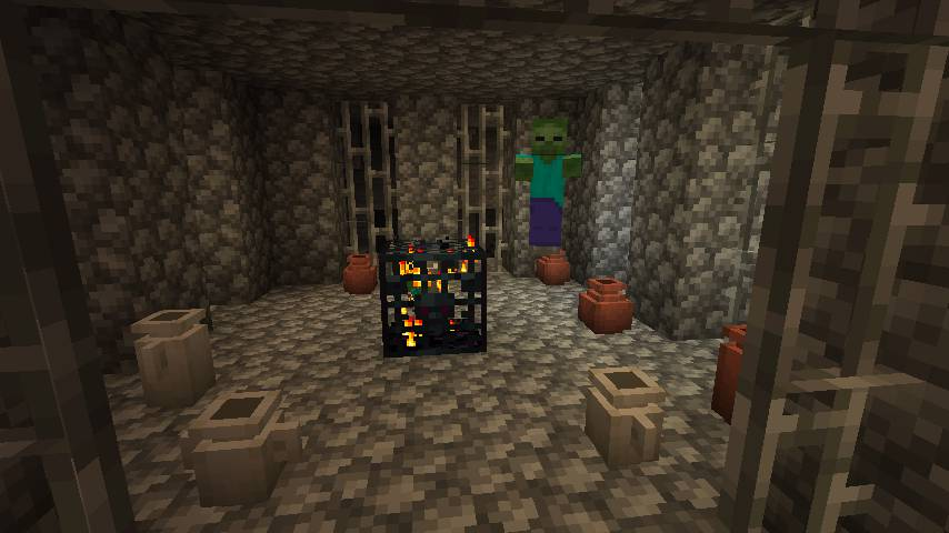Extended Caves mod for minecraft 21