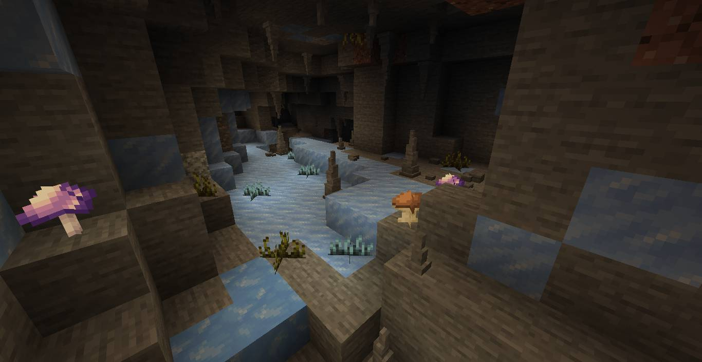 Extended Caves mod for minecraft 27