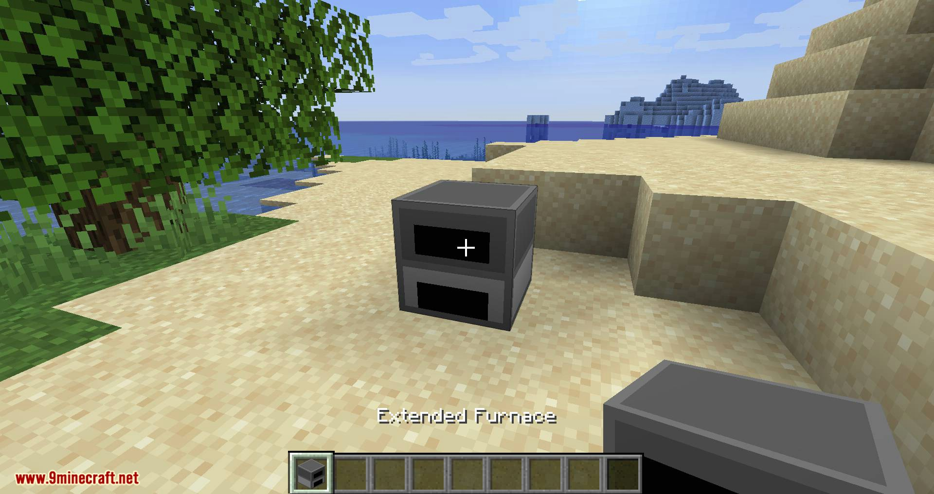 Extended Furnace mod for minecraft 01