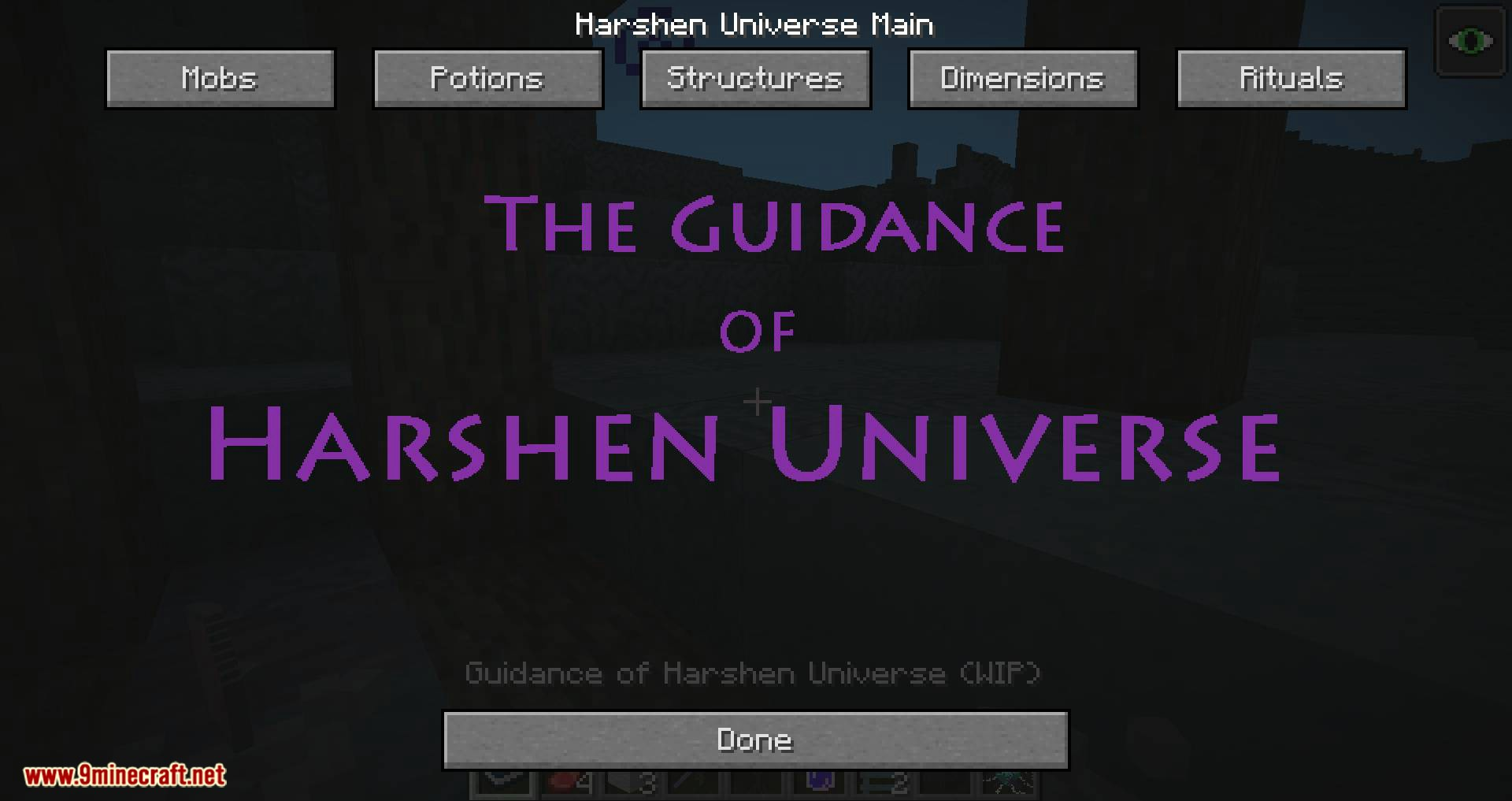Harshen Universe United mod for minecraft 10