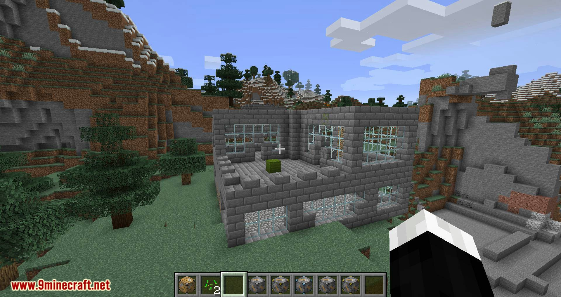 InstaHouses mod for minecraft 06