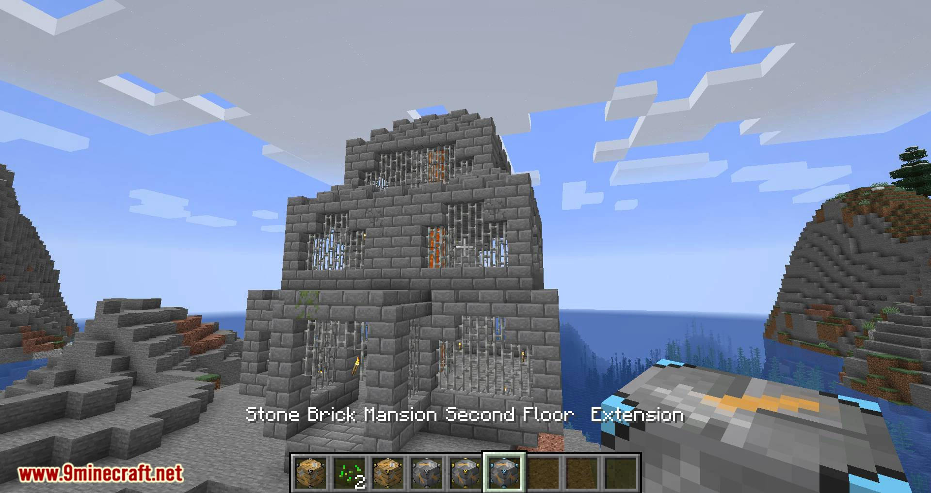 InstaHouses mod for minecraft 09