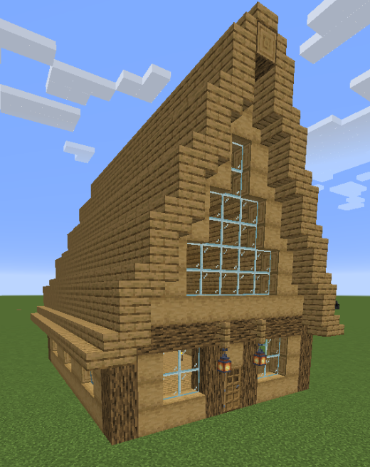 InstaHouses mod for minecraft 24