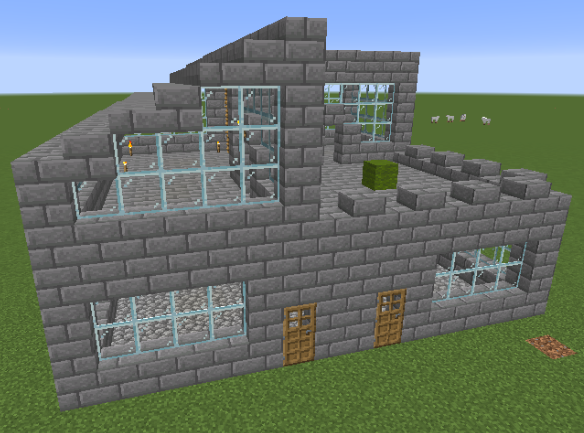 InstaHouses mod for minecraft 32