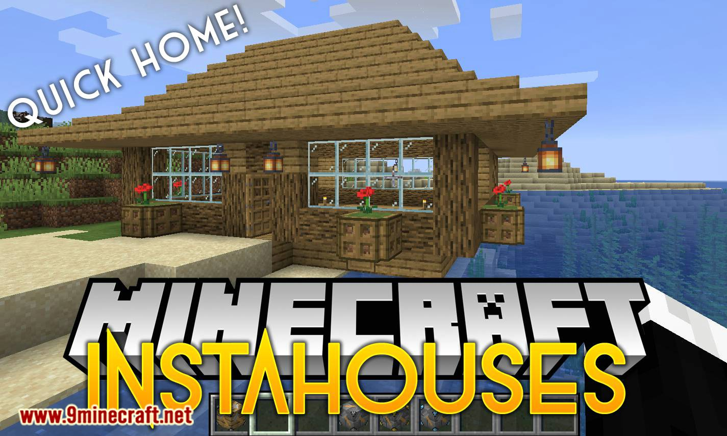 InstaHouses Mod 1111.111111.1111/1111.11111.11 (Houses that Can be Placed