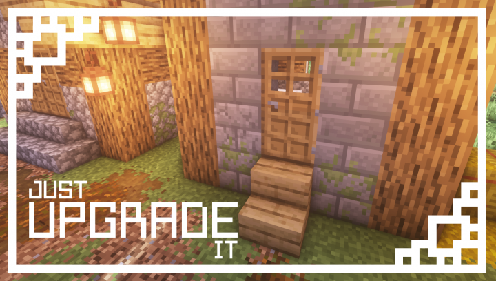 Just Upgrade It Resource Pack