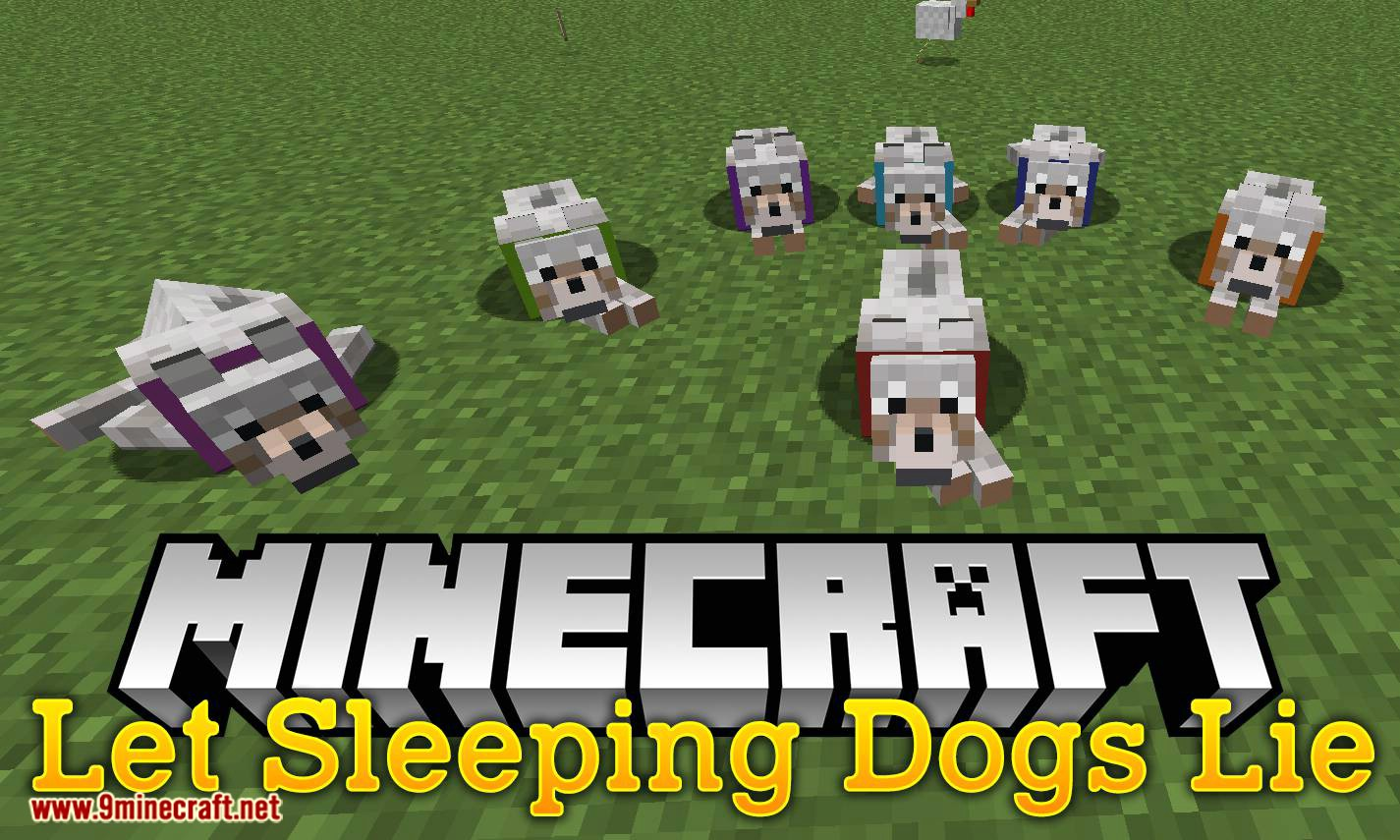 Let Sleeping Dogs Lie mod for minecraft logo