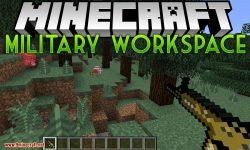 Military Workspace mod for minecraft logo