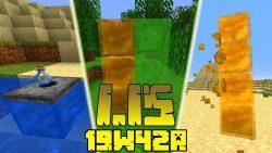 Minecraft 1.15 Snapshot 19w42a