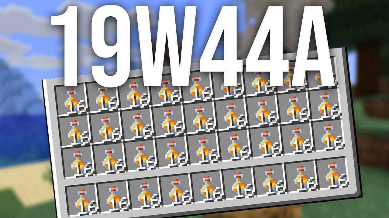 Minecraft 1.15 Snapshot 19w44a