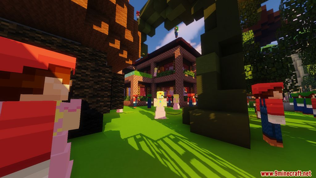 Minecraft Super Mario Edition – Hide & Seek Map Screenshots (10)