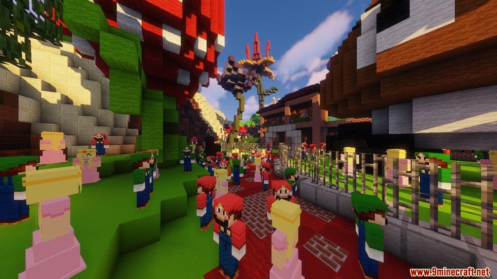 Minecraft Super Mario Edition – Hide & Seek Map Screenshots (12)
