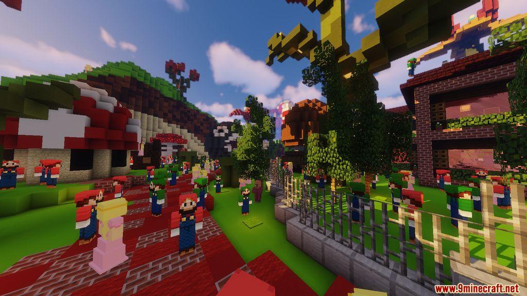 Minecraft Super Mario Edition – Hide & Seek Map Screenshots (9)