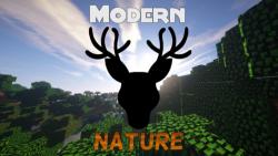 Modern Nature Mod for minecraft logo
