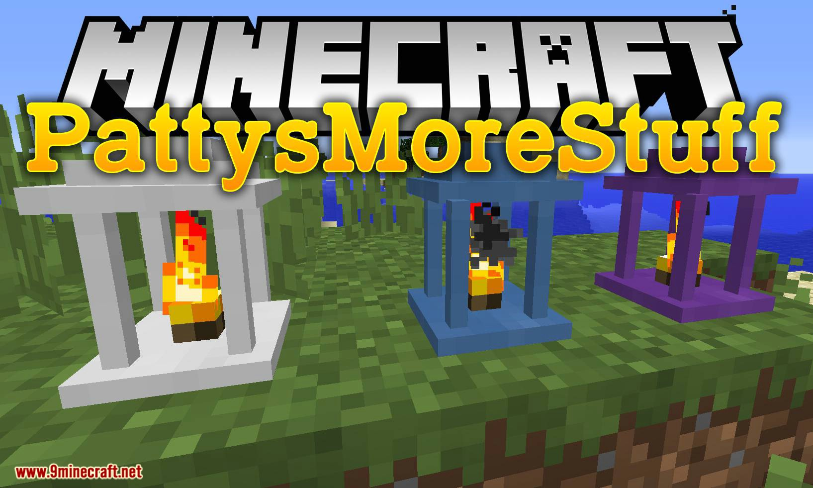 PattysMoreStuff mod for minecraft logo