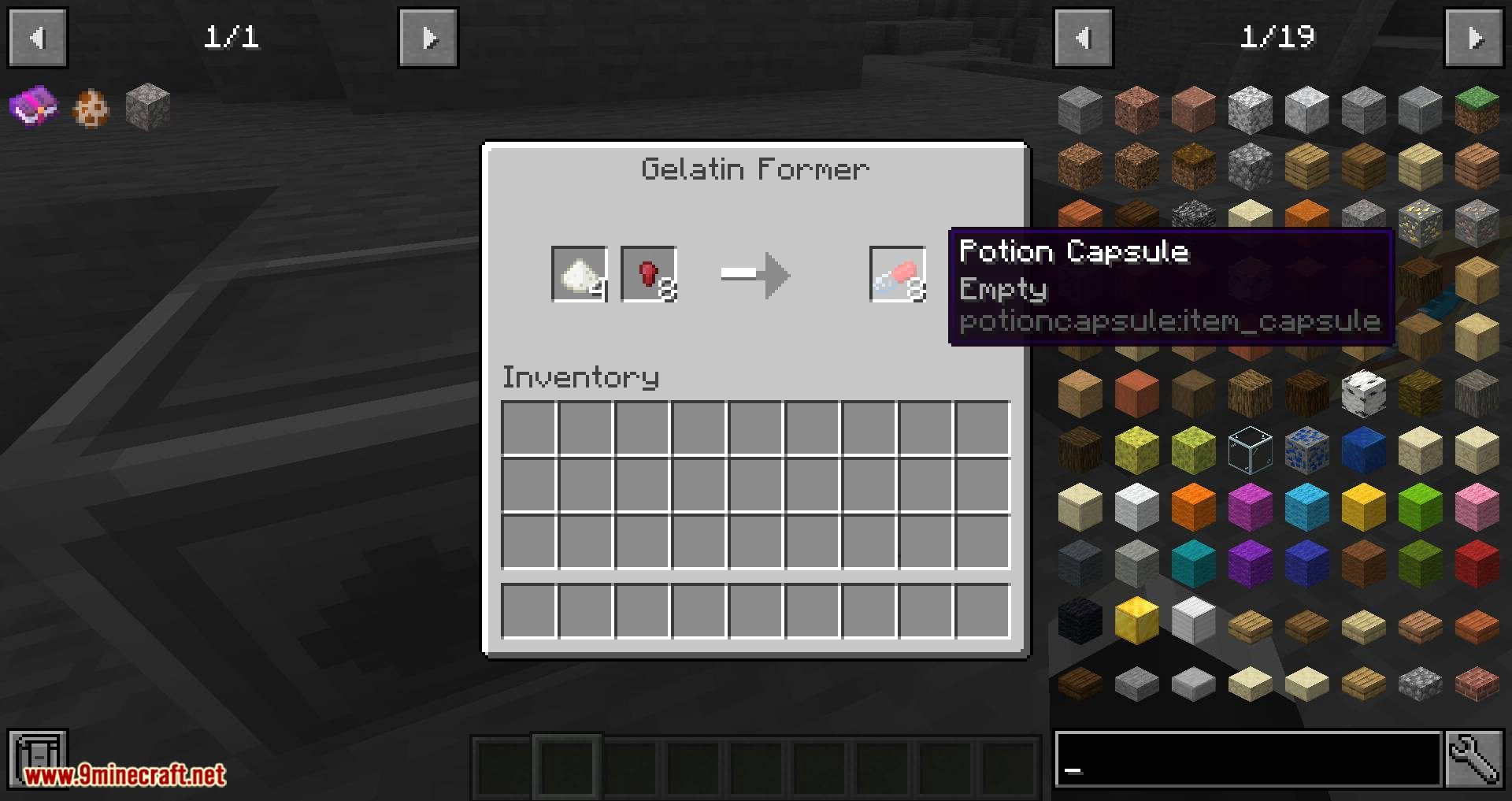 Potion Capsule mod for minecraft 06