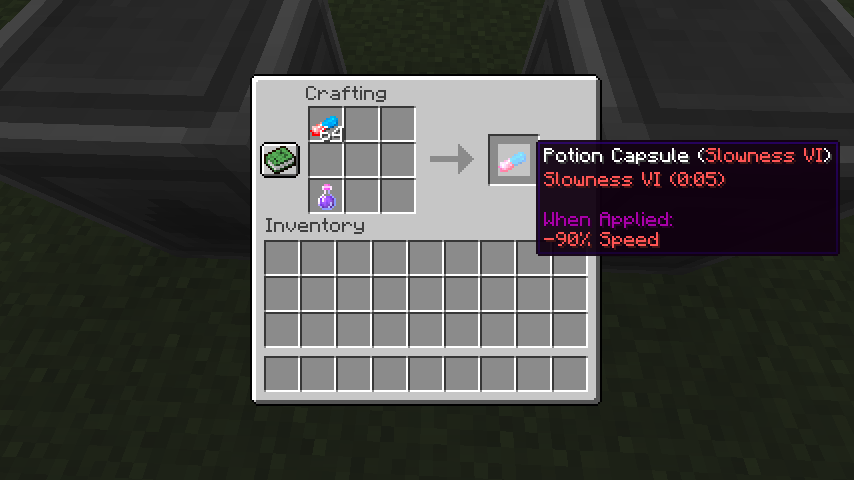 Potion Capsule mod for minecraft 22