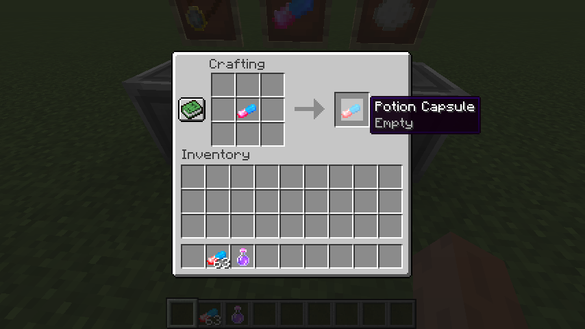Potion Capsule mod for minecraft 25