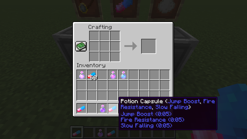 Potion Capsule mod for minecraft 27