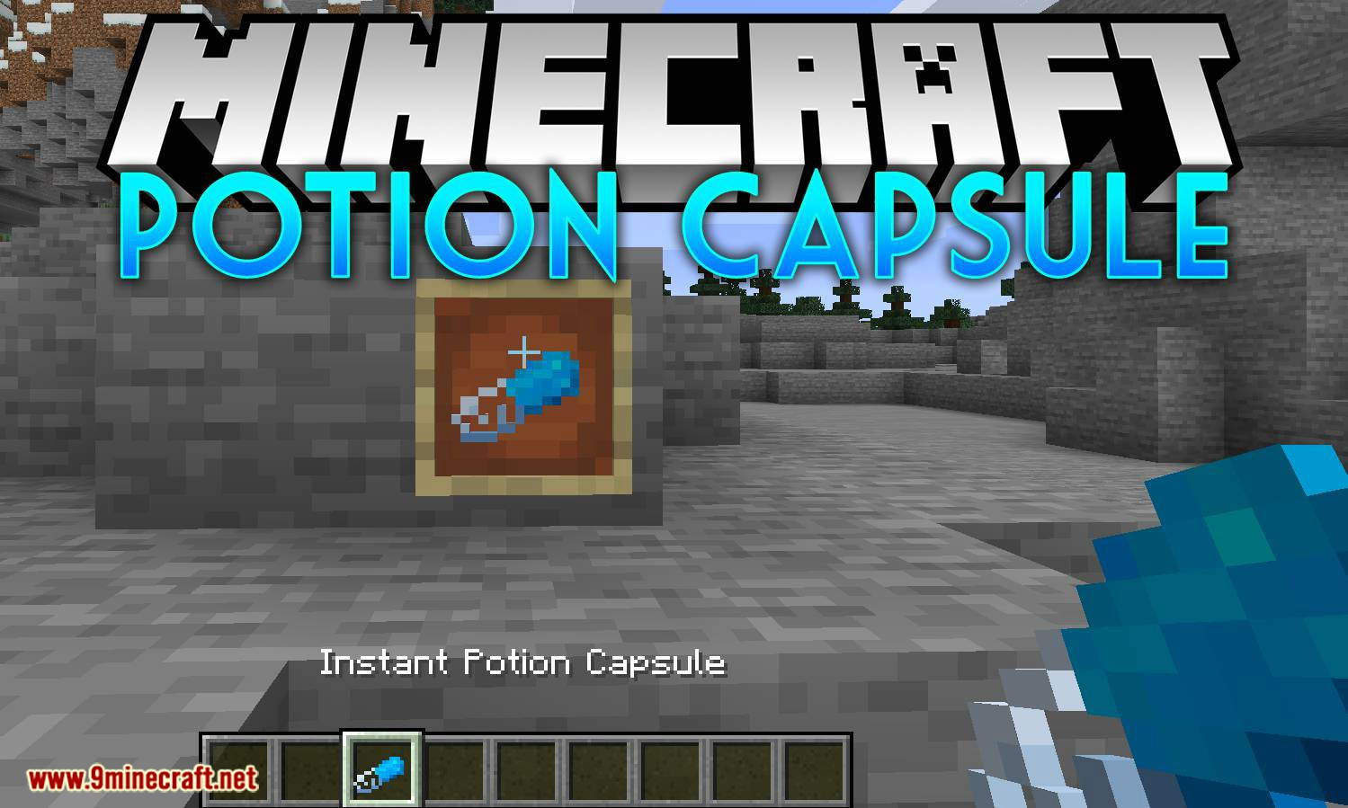 Potion Capsule mod for minecraft logo