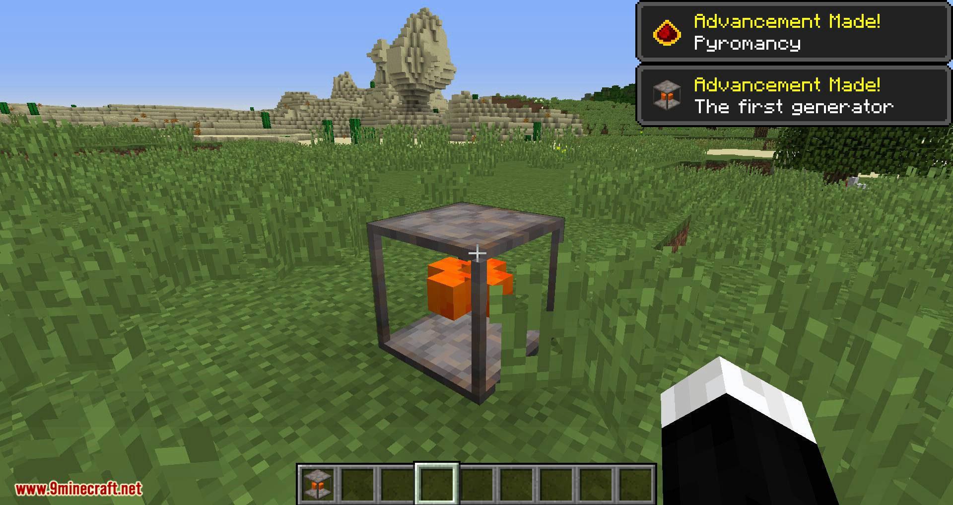 Pyromancy mod for minecraft 01