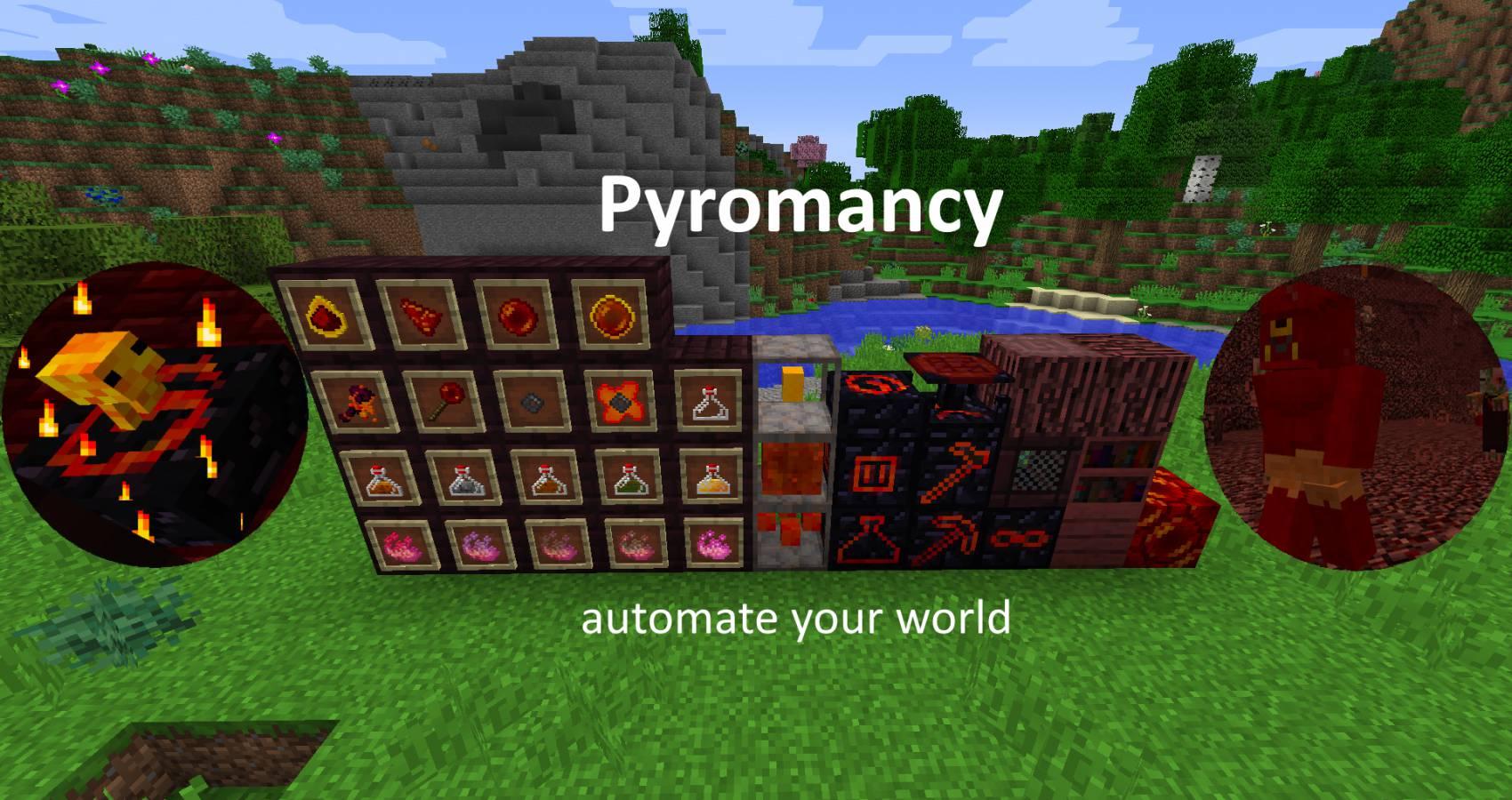 Pyromancy mod for minecraft 20