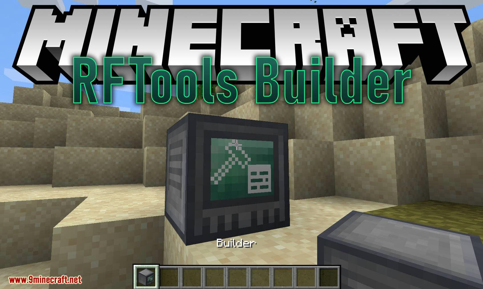 RFTools Builder mod for minecraft logo